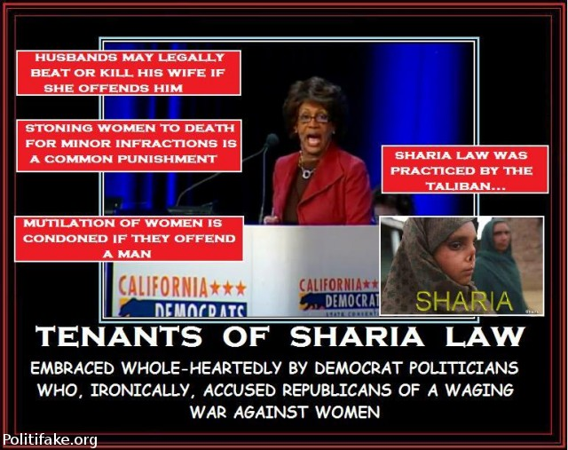 cons of sharia law Muslim use their sharia law to defend their behavior, saying it allows for this abominable treatment of women to be not only normal but celebrated.
