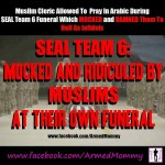 Who authorized a Muslim imam to curse the 30 fallen Navy