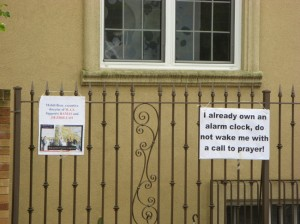 BROOKLYN: Muslims whine about living in a post-9/11