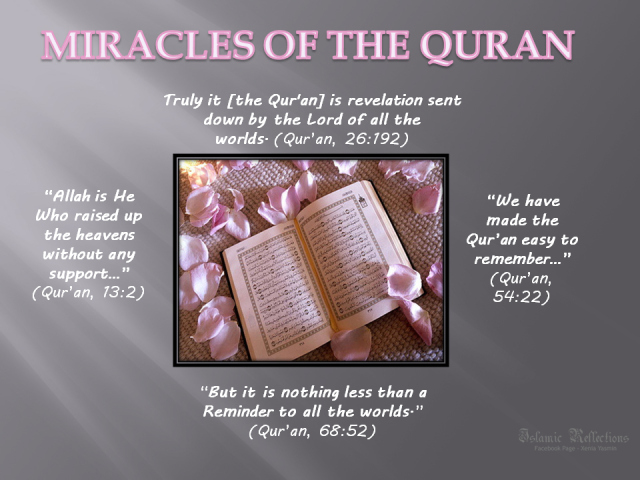 miracles of the quran