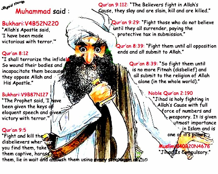 a comparison of peaceful teachings of islam and the claims of some muslim extremists and their actio