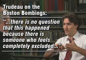 CANADIAN PM Justin Trudeau doesnt think ISIS supporters