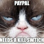 GRUMPY CAT has threatened to quit her job as Bare Naked Islam's alter ego