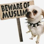 GERMANY: Muslim cop forbids a German woman with a baby stroller and her dog from entering a Muslim area