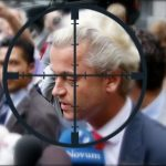 UK MUSLIMS threaten to behead anti-Islam activist, Dutch MP Geert Wilders, during his visit to London