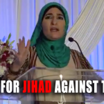 Linda Sarsour, who threatened jihad against Trump,  alleges she was threatened with death in a Facebook post