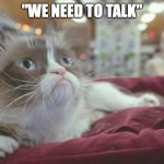 MESSAGE FROM GRUMPY CAT to BNI contributors