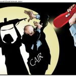 Designated terrorist group CAIR stirring up trouble around the country in reaction to the President recognizing Jerusalem as Israel's capital