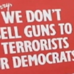 "MISSISSIPPI Gun Store sign says: ""Sorry, we don't sell guns to terrorists or democrats…it's too hard to tell the difference"""