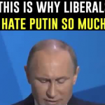 Why do those on the Left have such a virulent hatred for Vladimir Putin now?