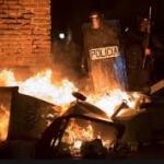 SPAIN: Violent rioting in the streets of Madrid by illegal alien African Muslim invaders