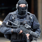 """FRANCE: Islamic State terrorist screaming """"Allahu Akbar"""" who murdered at least 3 people in a supermarket and wounded others has been killed by police"""