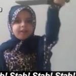 JERUSALEM: Jews ascending Temple Mount met with mini Muslim terrorists-in-training brandishing plastic knives