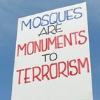 "FLORIDA residents are ""woke"" to threat of more mosques in their communities"