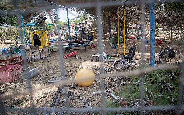 TERRORISTAS MUÇULMANOS EM GAZA ESTÃO AGORA ATACANDO OS JARDINS DE INFÂNCIA ISRAELENSES COM MORTEIRO