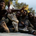 JACKPOT! African Muslim illegal aliens thrilled they got rejected by Italy and Malta