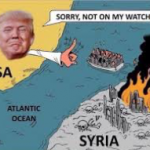"DONALD TRUMP says, ""Not on my watch!"""