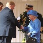 Oh, NOES! British snowflakes get their panties in a wad over Donald Trump NOT following royal protocol in his meeting with the Queen