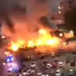 THIS JUST IN! Looks like a war zone in Sweden as (Muslim?) youth gangs carry out coordinated arson attacks in several locations