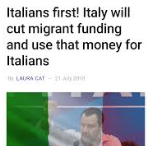 More reasons why Interior Minister Matteo Salvini is the most popular man in Italy
