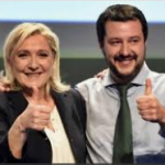 TWO BNI FAVORITES: France's Marine Le Pen and Italy's Matteo Salvini join forces to fight the enemies of the European people in Brussels