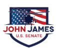 MEET JOHN JAMES! An awesome, battle-tested, conservative Republican candidate for the U.S. Senate from Michigan