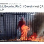 """FRANCE: Marine Le Pen is asked if she doesn't think she bears responsibility for stirring up hatred for Muslims by publishing photos of Islamic State (ISIS) atrocities"""""""