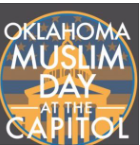 DOZENS OF AMERICAN anti-Islam protesters confront a group of Muslims who are praying on the lobby floor of the Oklahoma Capital building