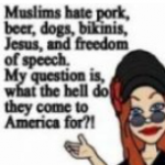 Tell us, CAIR, if life is so horrible and dangerous for Muslims in America, why aren't any of them leaving?