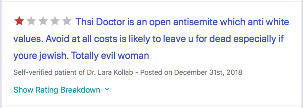 NEVER use a Muslim doctor…especially if you are Jewish