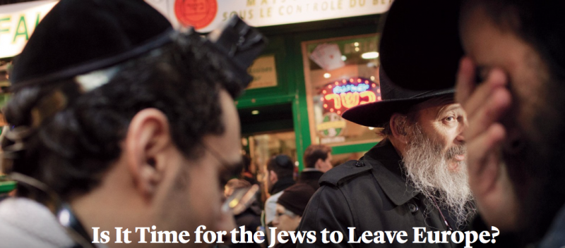 PARIS: Where Islamic extremists walk free and a Jewish philosopher is afraid to leave his home
