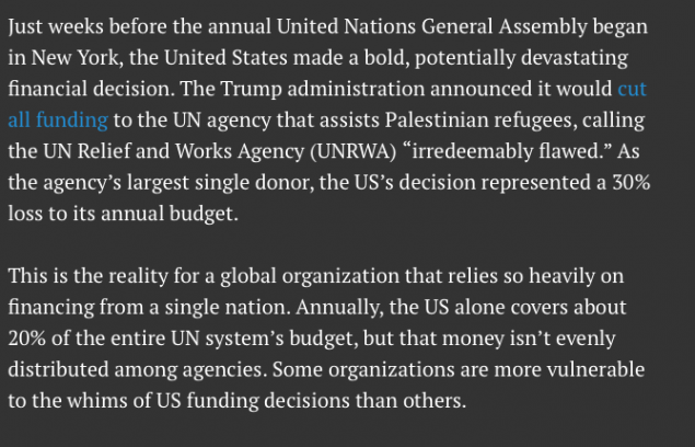 TRUMP is making good on his promise to cut billions from UN funding…and the UN is squealing like a stuck pig, Totalrehash.com