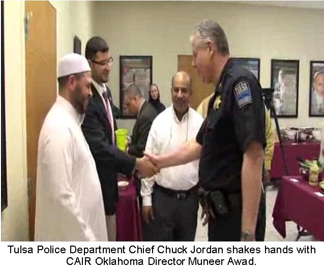 What is it about Tulsa, Oklahoma police officials and and their apparent CAIR-linked submission to Islam?
